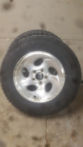 2 good-year nordic anow tires 15R
