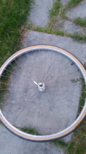 27 inch front wheel for road bike