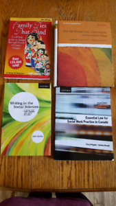 Social Service Worker Program Textbooks $5-$20