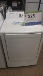 SAMSUNG 7.2 CU FT DRYER 125.00+TAXES