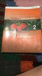 Manuel, Chimie organique, Fondements et applications 2