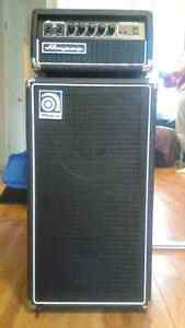 PRICE REDUCED! Ampeg 100 Watt Micro SVT CL 210 For Sale