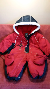 GUSTI X-TREM Snowsuit RED Ski Suit Size 18 Mts Supreme Quality