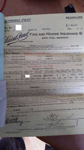 1914 Ford Touring original factory papers (2 cars, 2 VINS)