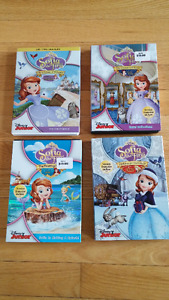 4 Sofia the First DVD's for $15 - like new condition