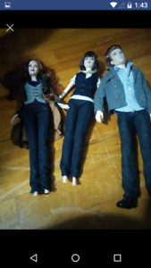 Twilight Barbie's Dolls gently used $20 firm for all of them