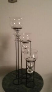Metal Candle Holder - 3 candles