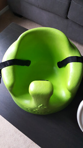 Green bumbo chair