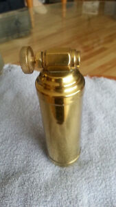 VINTAGE PRESTO MINI FIRE EXTINGUISHER - GREAT SHAPE!