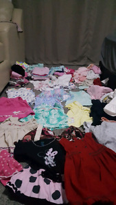 Great condition Baby girl 6-9 months clothes lot