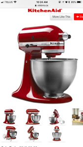 In a box kitchen aid mixer
