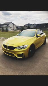 2015 BMW M4 EXEC. PREM. TECH. LOW KM, FINANCING AVAIL $360 BW