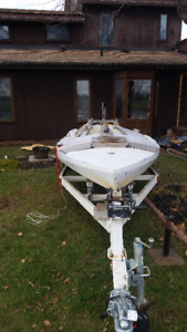 INCREDIBLE DEAL ON 22 ft SAILBOAT/ CUSTOM TRAILER AND MORE