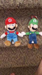 Mario & Luigi plush