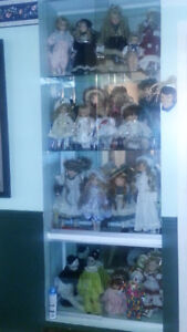 Vintage Porcelain Doll Collection Lot RARE from Smoke Free Home
