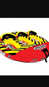 Speed zone 3 person water tube