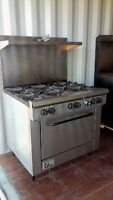 SOUTHBEND COMMERCIAL 6 BURNER GAS STOVE/OVEN - WORKS GREAT