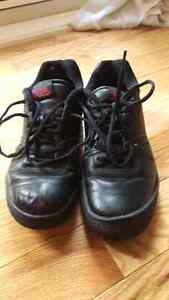 Curling shoes size 7.5 + broom