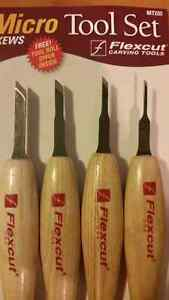 Woodcarving Tools (Flexcut) - 2 separate sets