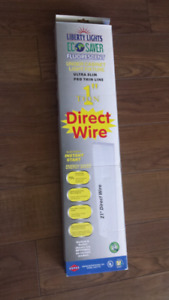 Under cabinet light fixtures new in box