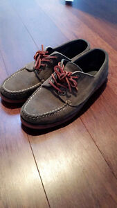 Eastland Made in Maine - Falmouth Military Green Suede