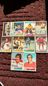 Lot of 10 cards.