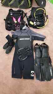 Complete scuba package $750 prices to sell fast.