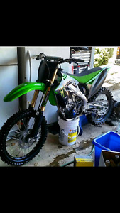 2012 kx250f monster edition trade or sell