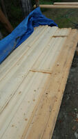 "Log Siding 6"" x 16' Lengths"