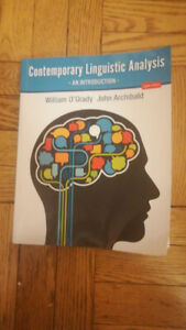 CONTEMPORARY LINGUISTIC ANALYSIS EIGHTH EDITION
