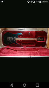 Ibanez Rg1570 w/hardshell case. trade for pc