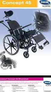 Concept 45 Tilting Wheelchair Cambridge Kitchener Area image 3