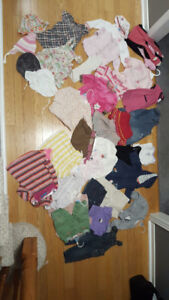 Girls mixed lot size 6 to 12 months 37 pieces