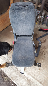center seat with fold down console fit 99-07 chev or gmc trucks