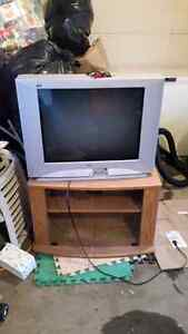 "Free 32"" cutizen tv with stand"