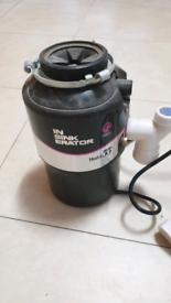 Food waste disposer for kitchen sink