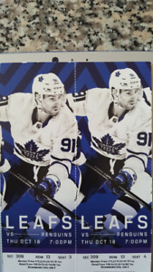Maple Leafs VS Pittsburgh Thur Oct 18th