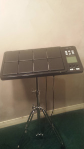 Roland Octapad SPD-30 (BK) with PDS-10 Stand