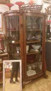 Sale Bow  Front China cabinet 40% off