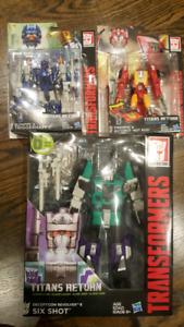 Transformers Titans Return Figures