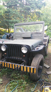 1952 M38 CND army military jeep : parts wanted