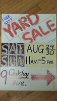 YARD SALE - Clayton Park Area