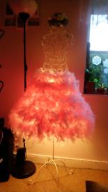 Lamp mannequin