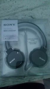 Sony Bluetooth stereo headphones NEW in package