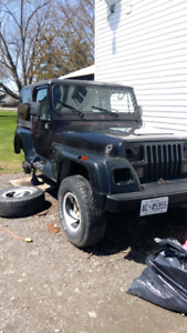 94 jeep yj trade for truck