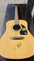 Epiphone acoustic guitar by Gibson signed by Toby Keith!