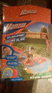 tapis glisse a eau /water racing slide