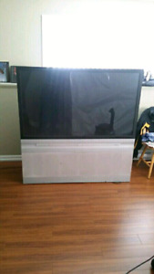"""61"""" RCA projection screen TV"""