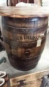 meuble jack Daniel`s en bois
