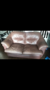 LEATHER LOVE SEATS